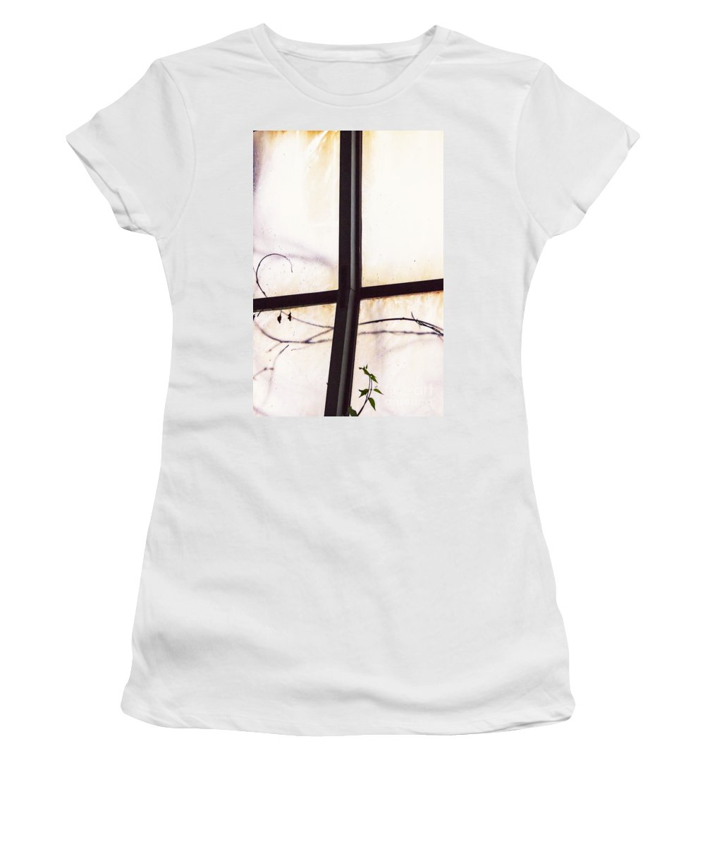 Glass Women's T-Shirt featuring the photograph Tendrils by Margie Hurwich