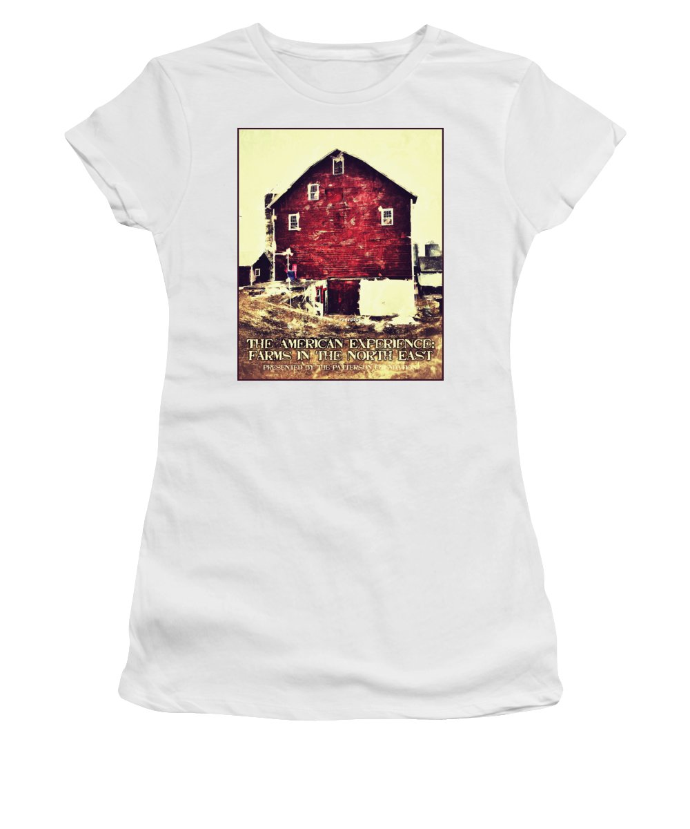 Poster Women's T-Shirt featuring the digital art The American Experience by H James Hoff