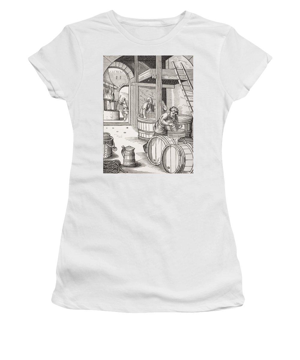 Pouring Drawings Women's T-Shirts