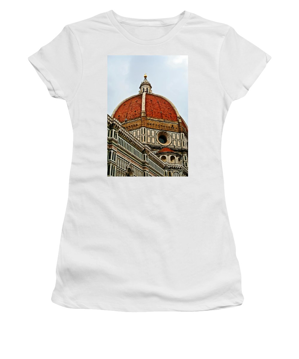 Travel Women's T-Shirt featuring the photograph The Dome by Elvis Vaughn
