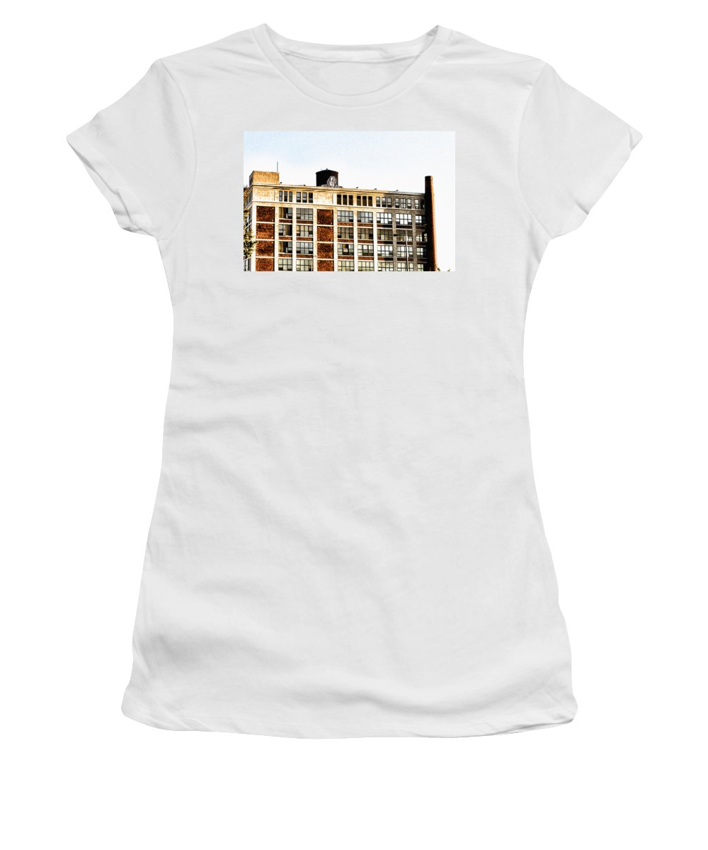Electric Women's T-Shirt featuring the photograph The Electric Factory by Bill Cannon