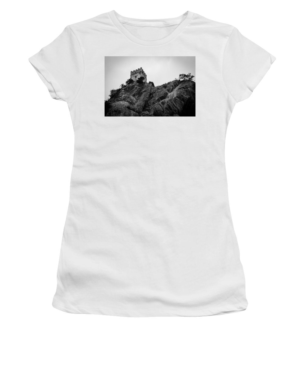 Landscape Women's T-Shirt featuring the photograph The Fortress by Andrea Mazzocchetti
