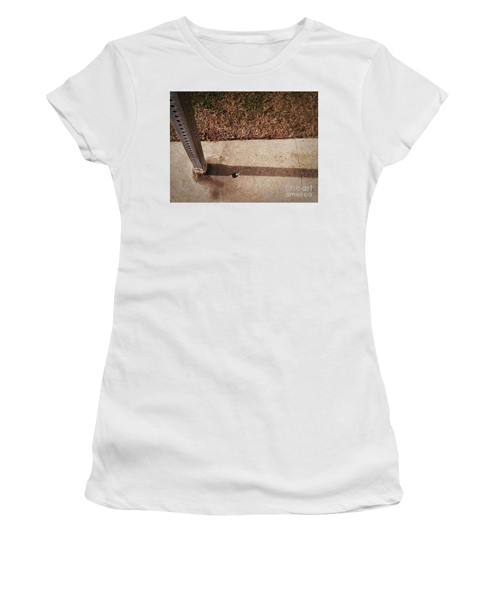 Street Snapshot Women's T-Shirt (Athletic Fit) featuring the photograph Key by Fei A