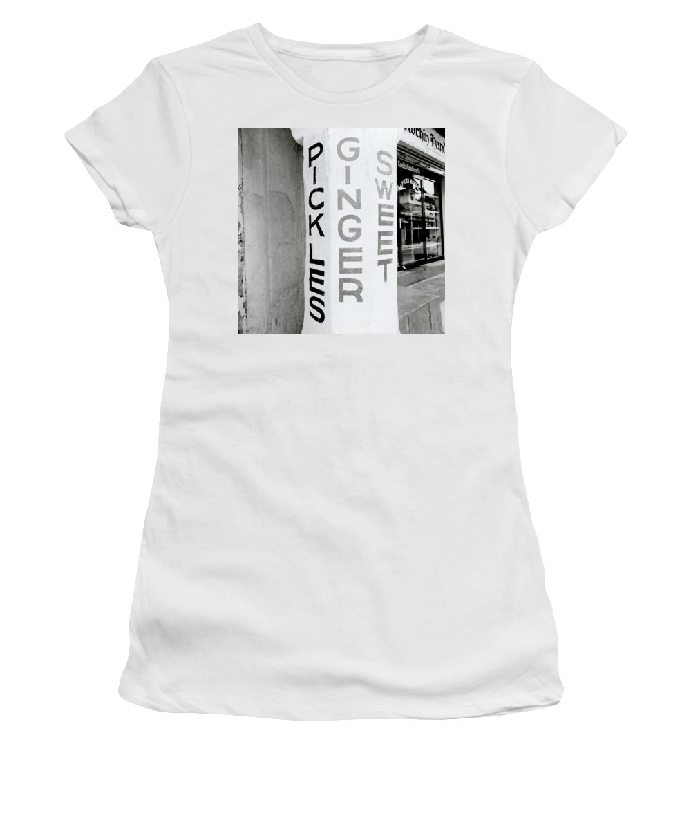 Worker Women's T-Shirt featuring the photograph The Spice Merchant by Shaun Higson