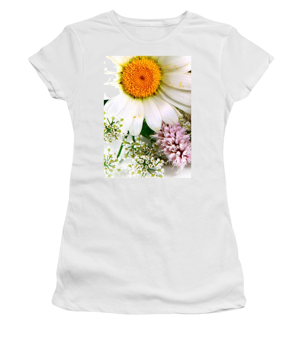 Sun Women's T-Shirt (Athletic Fit) featuring the photograph The Sun by Munir Alawi