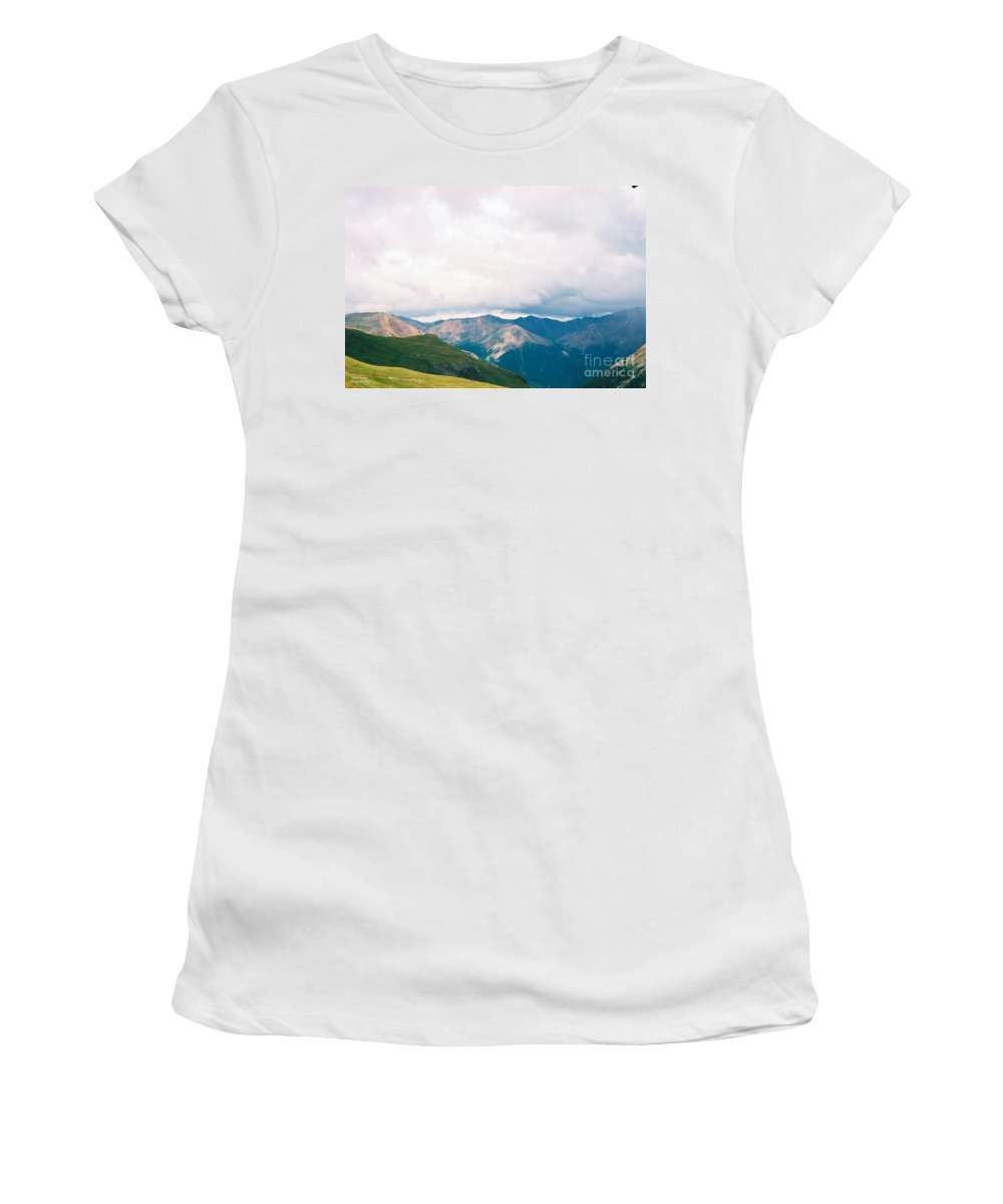 The View Women's T-Shirt (Athletic Fit) featuring the photograph The View by Jennifer Lavigne