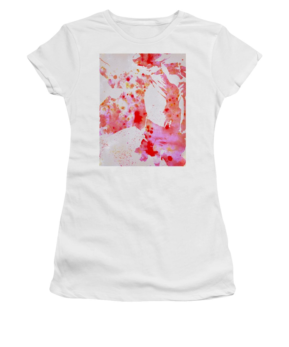 Michael Jackson Women's T-Shirt featuring the digital art This Is It by Brian Reaves