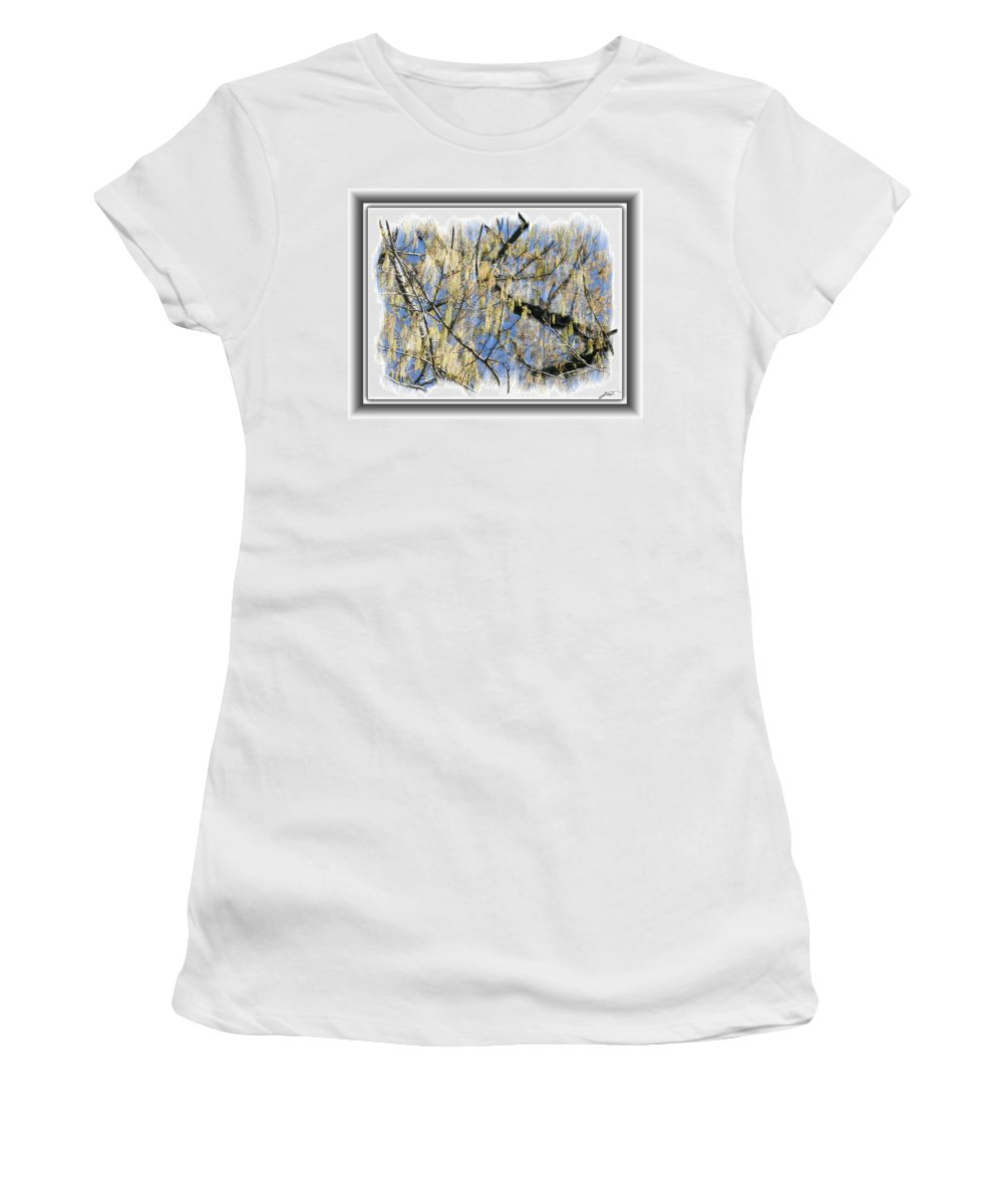 Plants Women's T-Shirt featuring the photograph Through Imagination by Thomas Fields