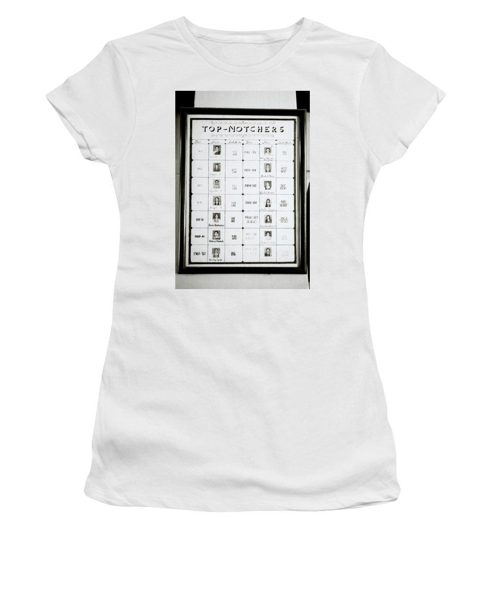 India Women's T-Shirt featuring the photograph Top Notchers by Shaun Higson