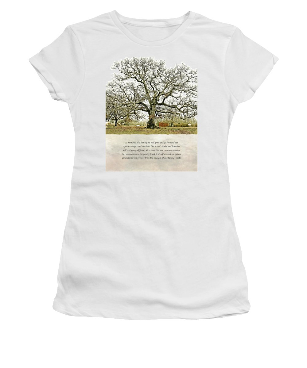 North Carolina Women's T-Shirt featuring the photograph Tree Of Life by Stephen Warren