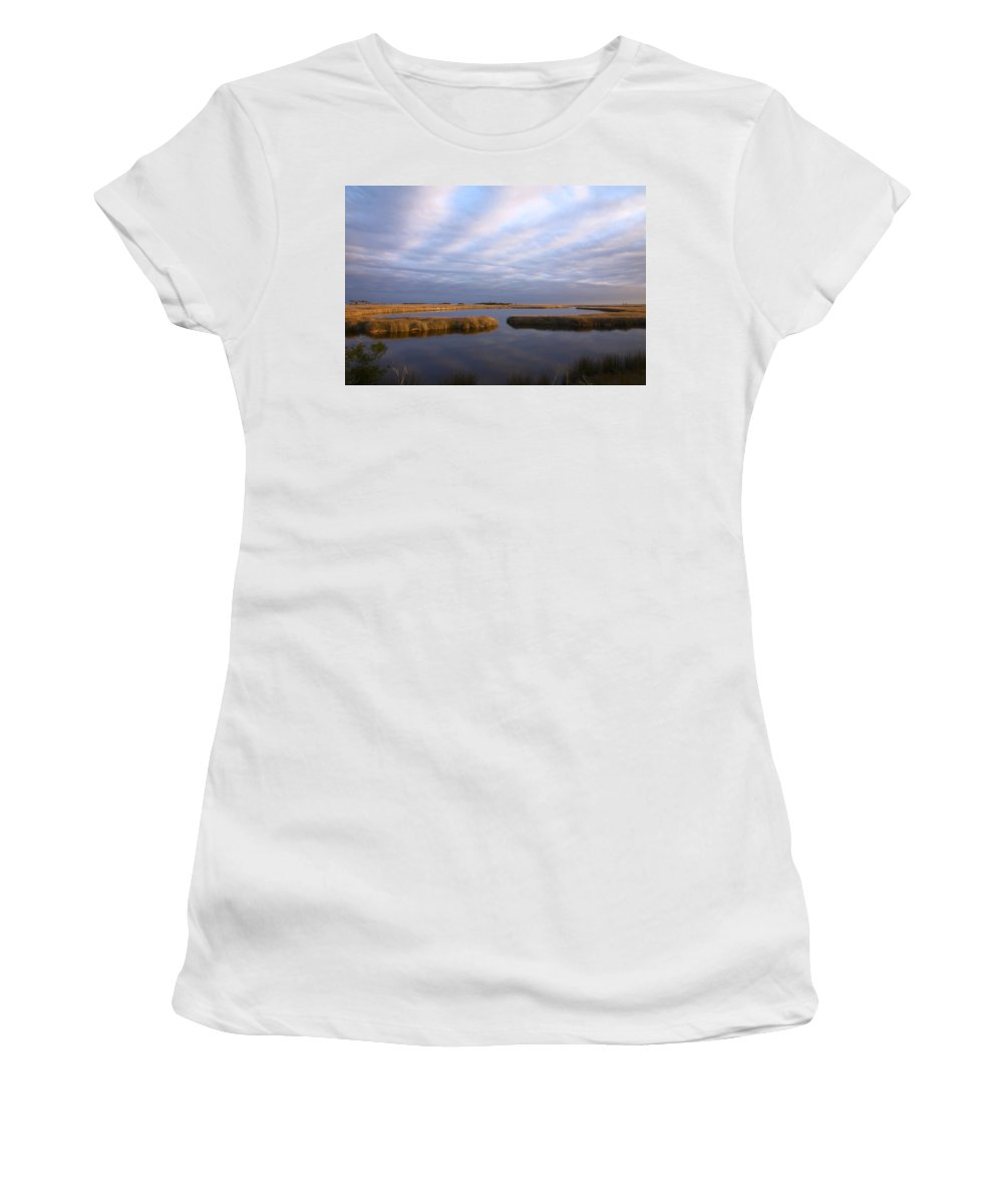 Florida Women's T-Shirt (Athletic Fit) featuring the photograph Tribute by Bill Chambers