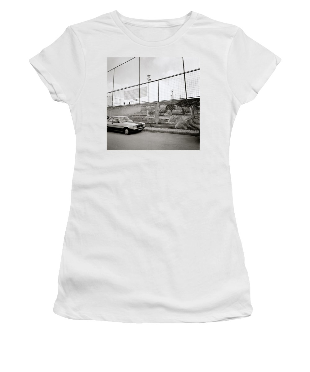Istanbul Women's T-Shirt (Athletic Fit) featuring the photograph Urban Istanbul by Shaun Higson