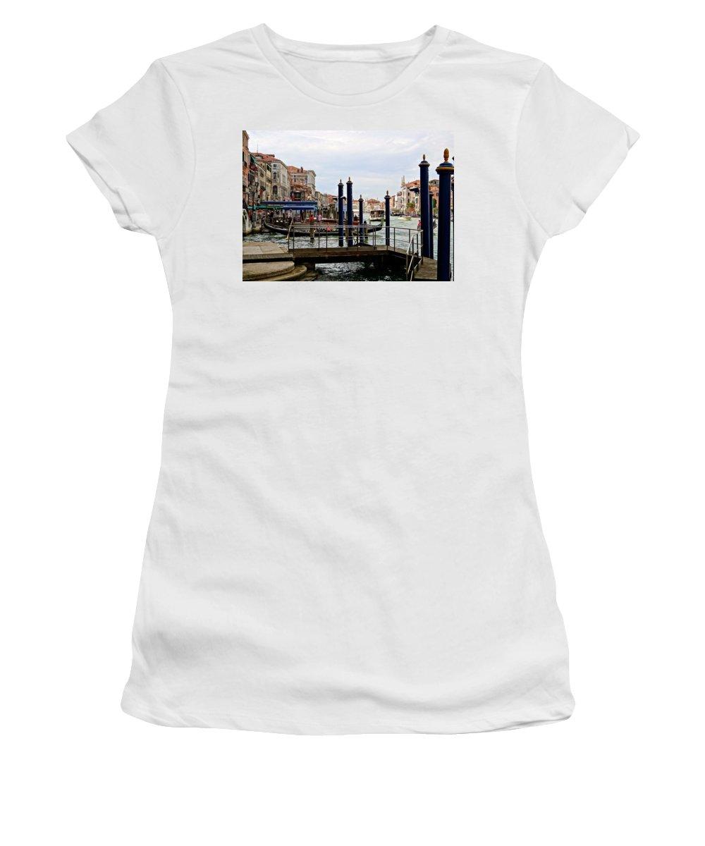 Venice Women's T-Shirt featuring the photograph Venetian Days by Ira Shander