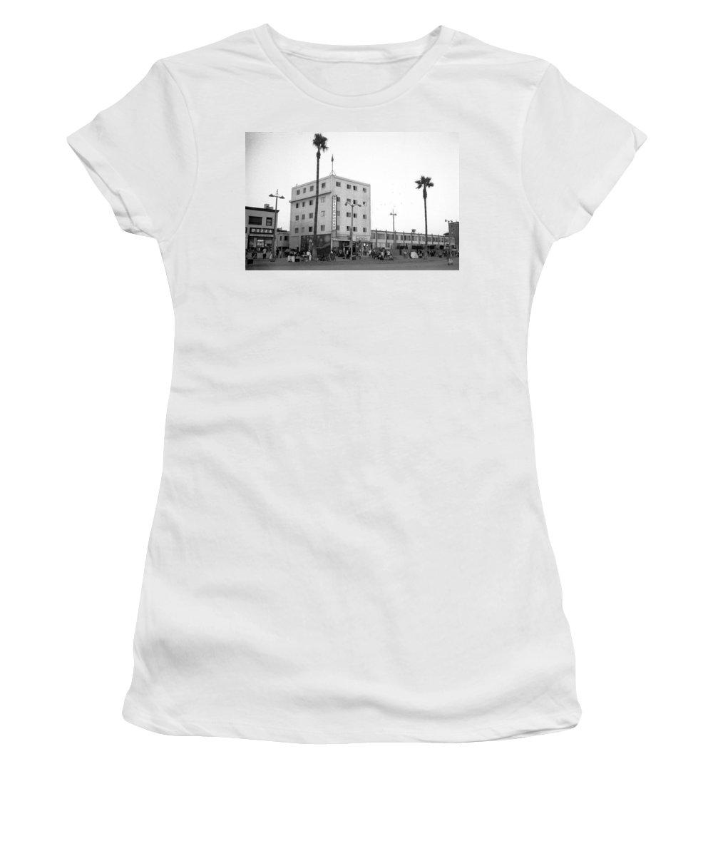 Women's T-Shirt featuring the photograph Venice Beach House by Jennifer Ann Henry