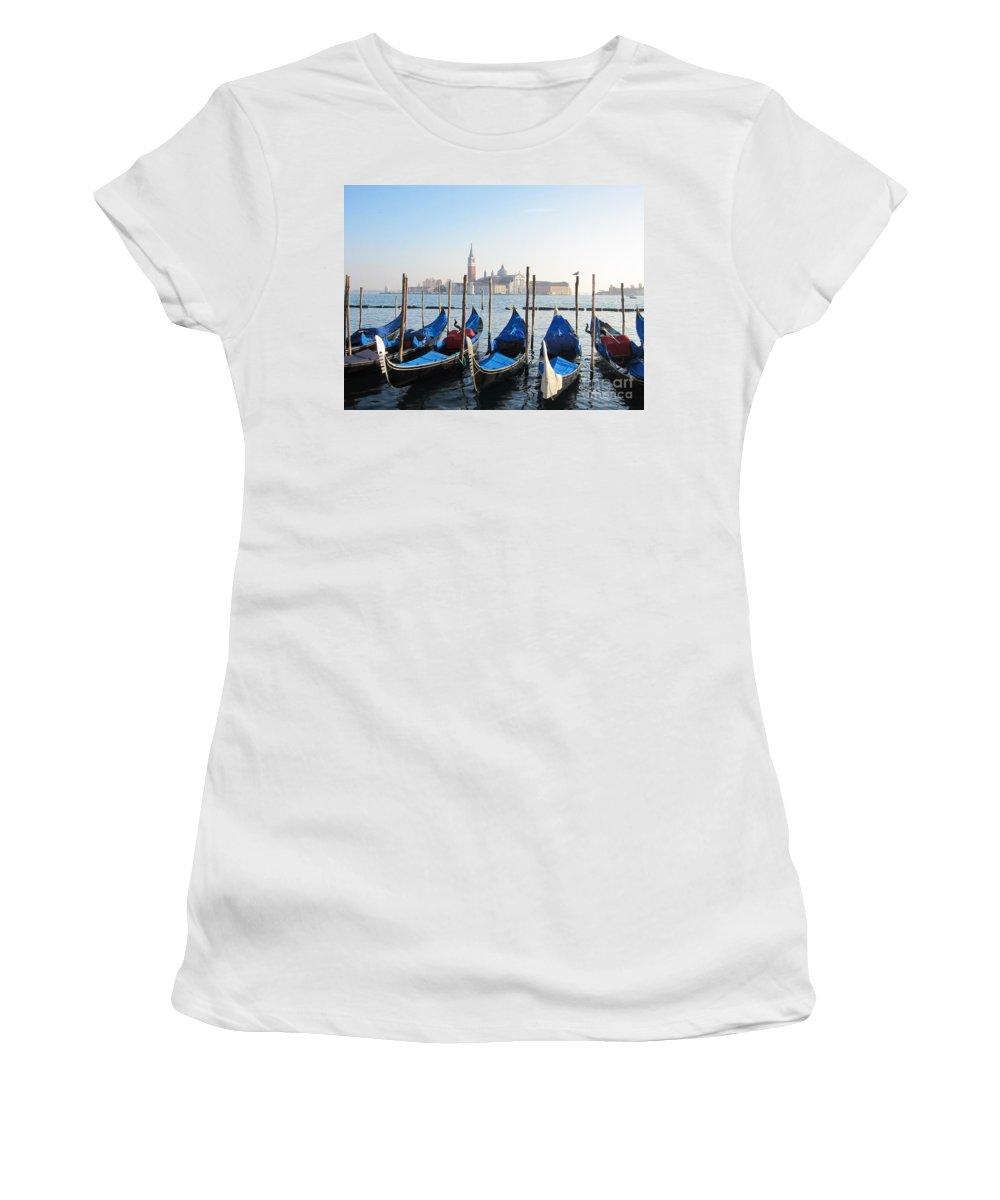 Venice Women's T-Shirt featuring the photograph Venice by Marguerita Tan