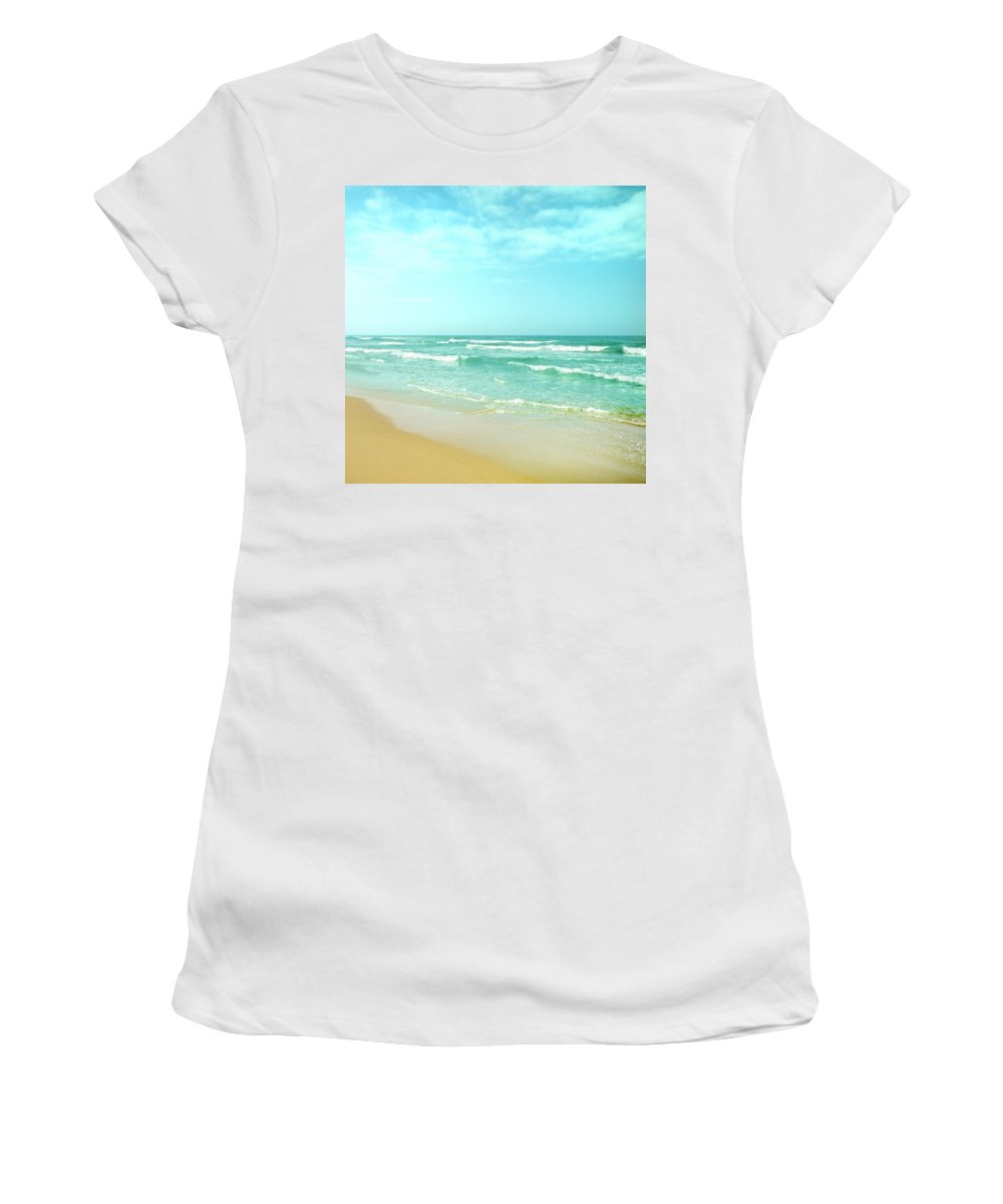 Texture Women's T-Shirt featuring the photograph Vintage Summer by Guido Montanes Castillo