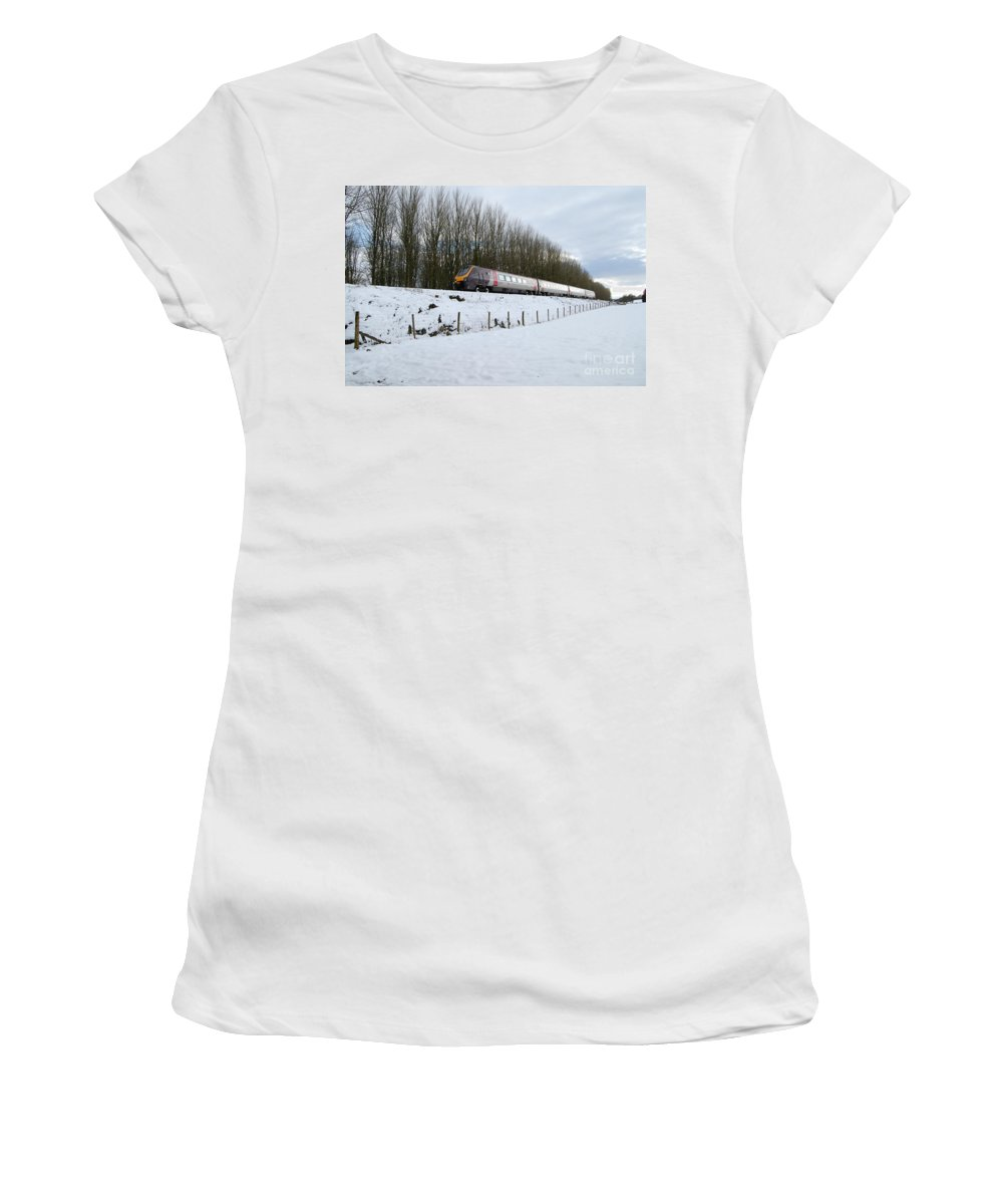 Wellington Women's T-Shirt featuring the photograph Voyager On Wellington Bank by Rob Hawkins
