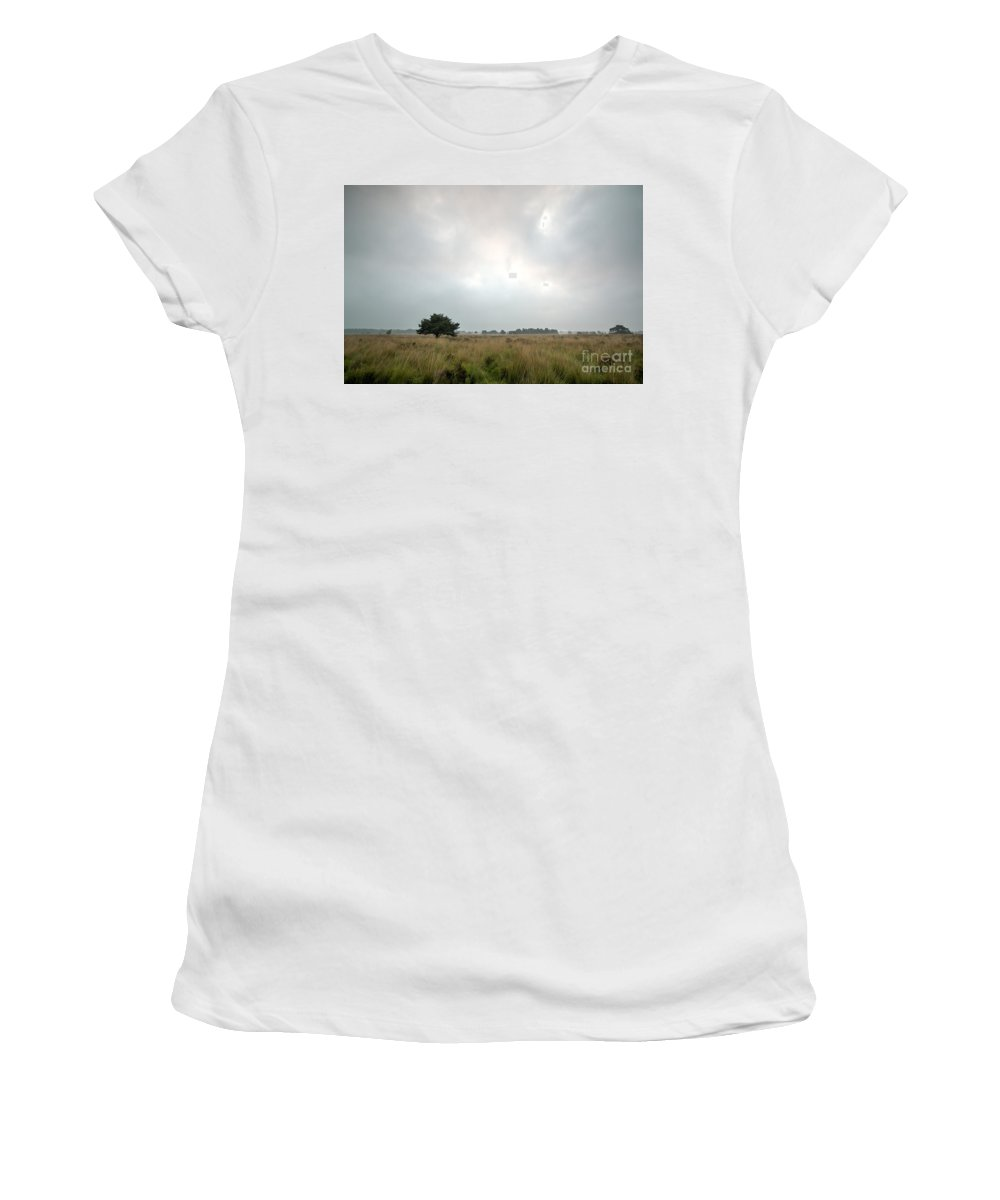 Wetland Women's T-Shirt (Athletic Fit) featuring the photograph Wetland 2 by Brothers Beerens