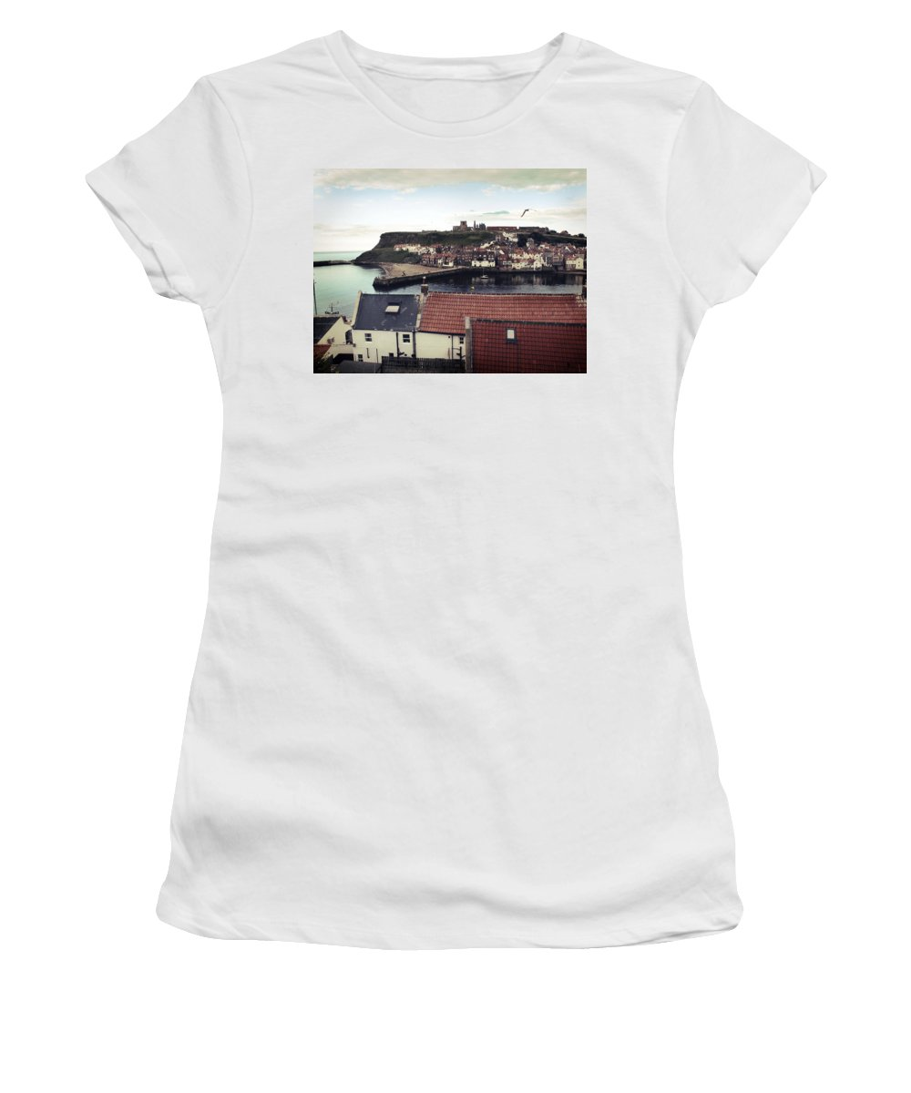 Uk Women's T-Shirt featuring the photograph Whitby by Christopher Rees