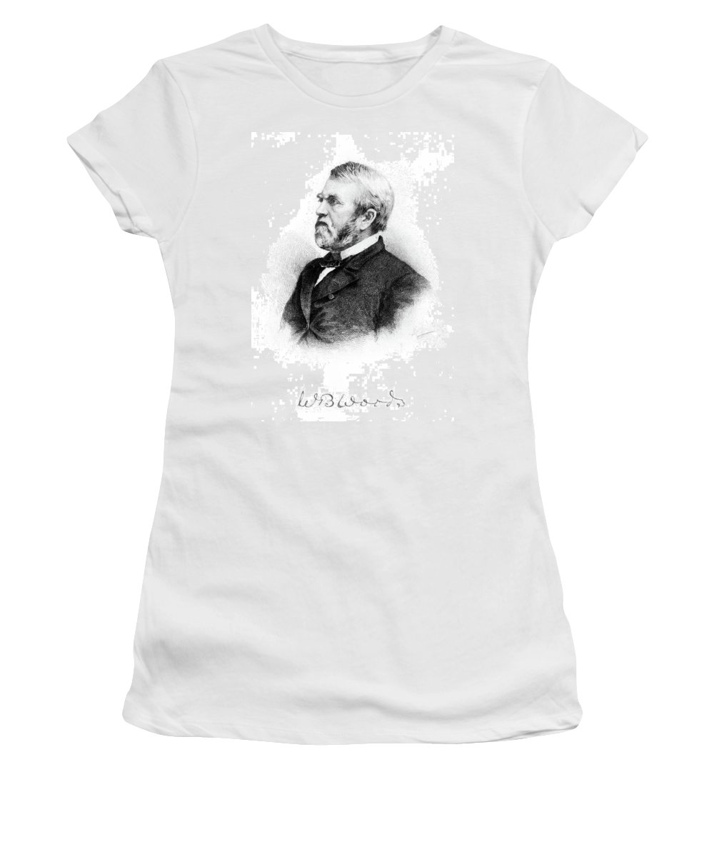 19th Century Women's T-Shirt (Athletic Fit) featuring the painting William Burnham Woods (1824-1887) by Granger