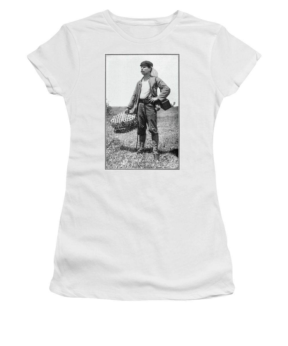 1899 Women's T-Shirt (Athletic Fit) featuring the photograph William Dinwiddie (1867-1934) by Granger