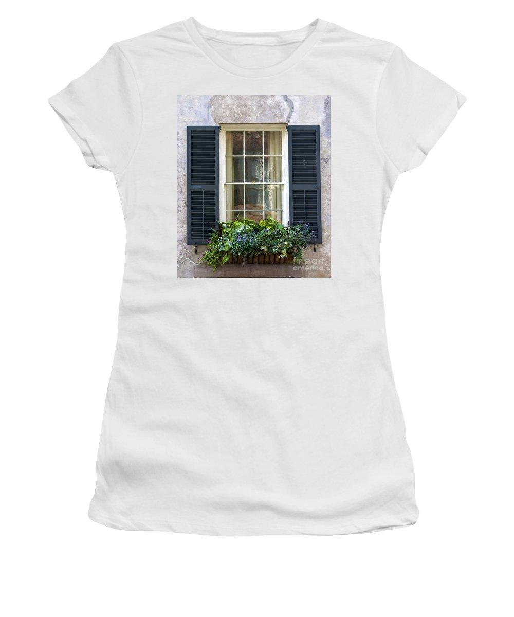 Window Women's T-Shirt featuring the photograph Window Xii by Bruce Bain