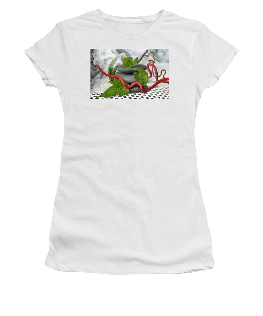 Zen Women's T-Shirt featuring the photograph Zen 7 by Manfred Lutzius