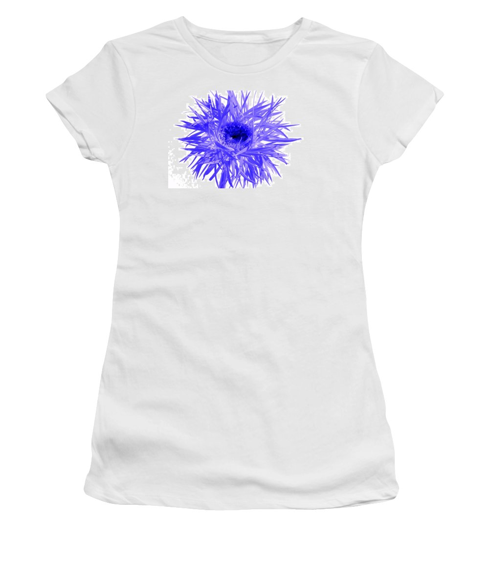 Gerbera Photographs Photographs Photographs Women's T-Shirt (Athletic Fit) featuring the photograph 0687c-015 by Kimberlie Gerner