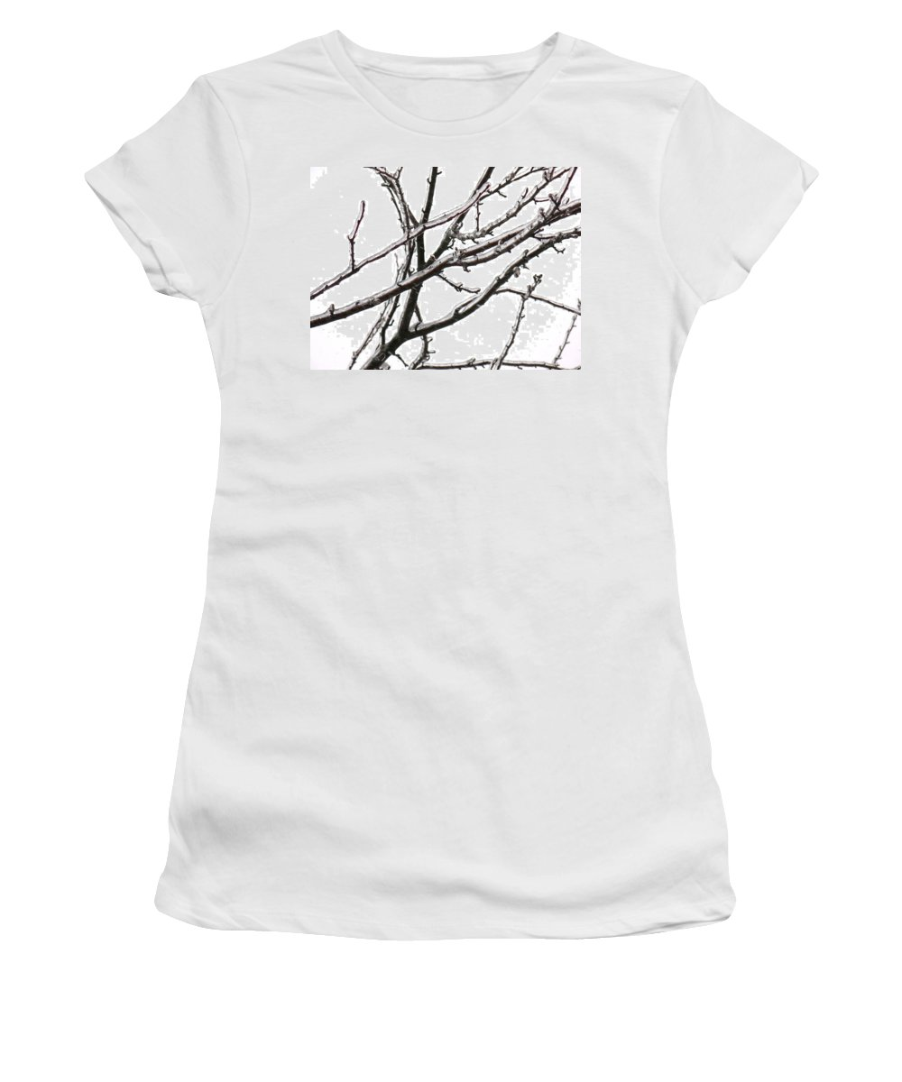 Unique Photographs Women's T-Shirt (Athletic Fit) featuring the photograph 0920c1 by Kimberlie Gerner