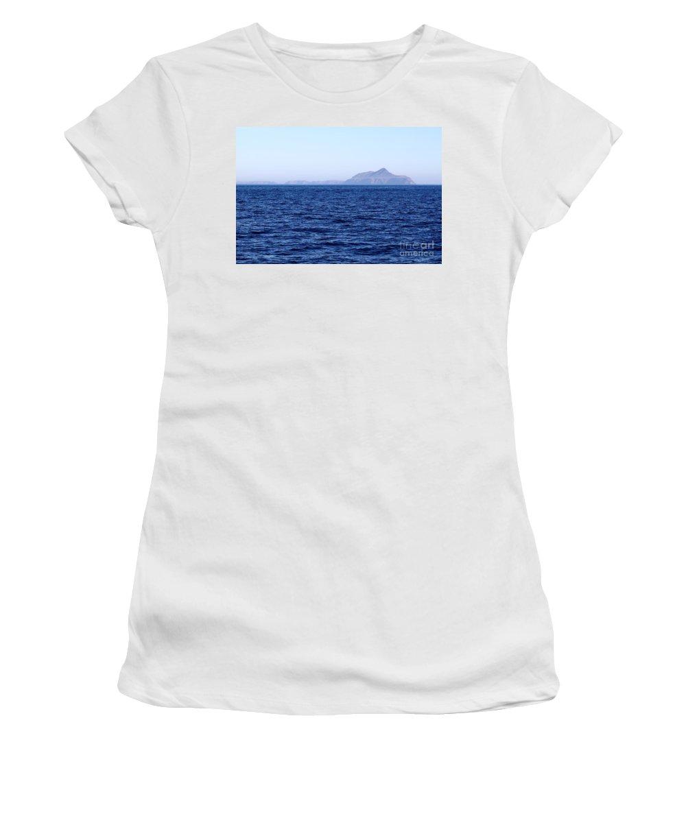 Island Women's T-Shirt featuring the photograph Anacapa Island by Henrik Lehnerer