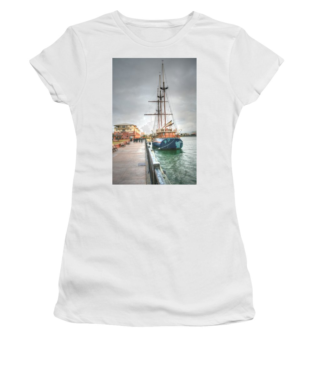 Pensacola Women's T-Shirt (Athletic Fit) featuring the photograph Days Of Old by David Troxel