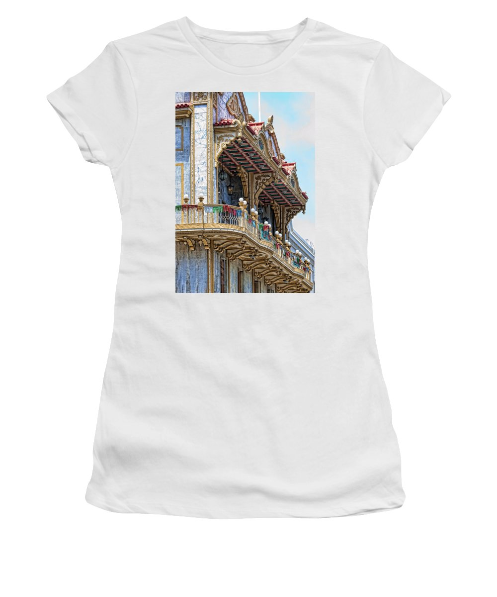 Chinatown Women's T-Shirt (Athletic Fit) featuring the photograph Chinatown by Jay Hooker