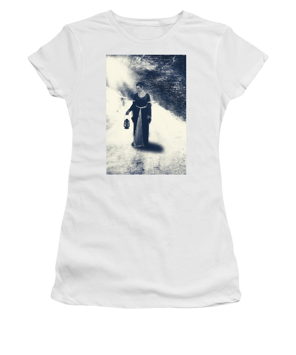 Female Women's T-Shirt (Athletic Fit) featuring the photograph Lantern by Joana Kruse