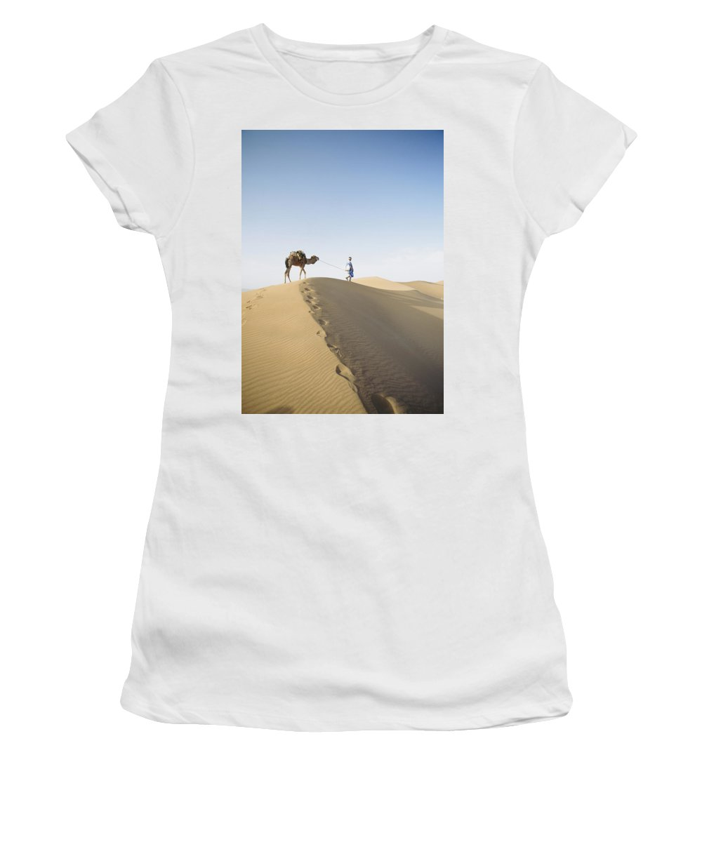 Weather Women's T-Shirt (Athletic Fit) featuring the photograph Untitled by Axiom Photographic
