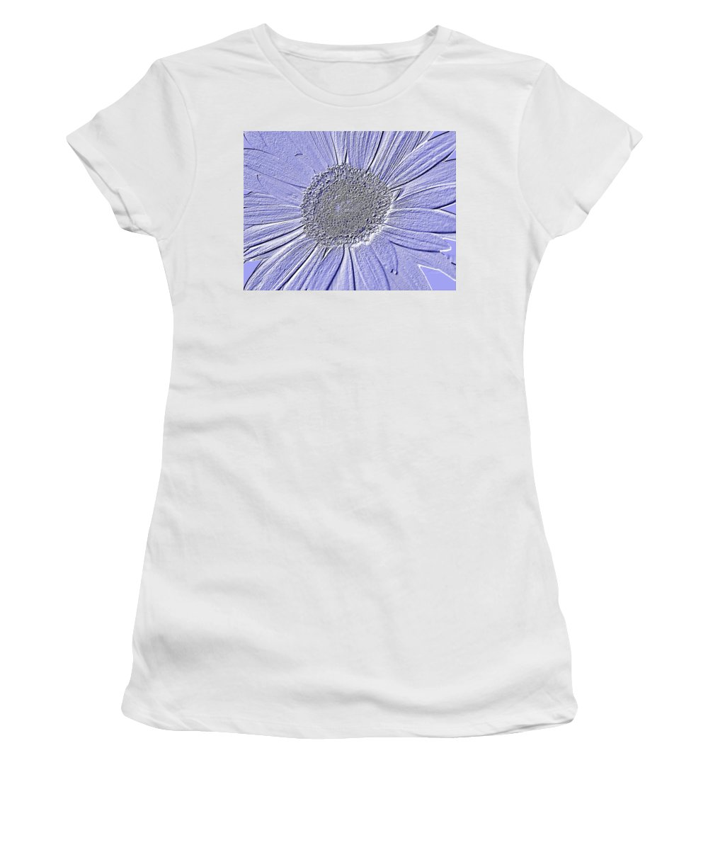 Gerbera Photographs Photographs Photographs Women's T-Shirt (Athletic Fit) featuring the photograph 5540c7 by Kimberlie Gerner