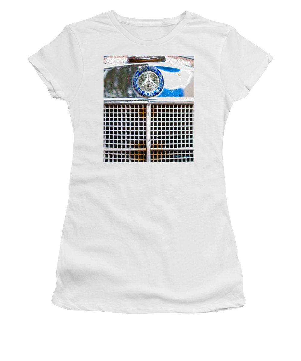 Interior Design Women's T-Shirt (Athletic Fit) featuring the photograph Benz by Paulette B Wright
