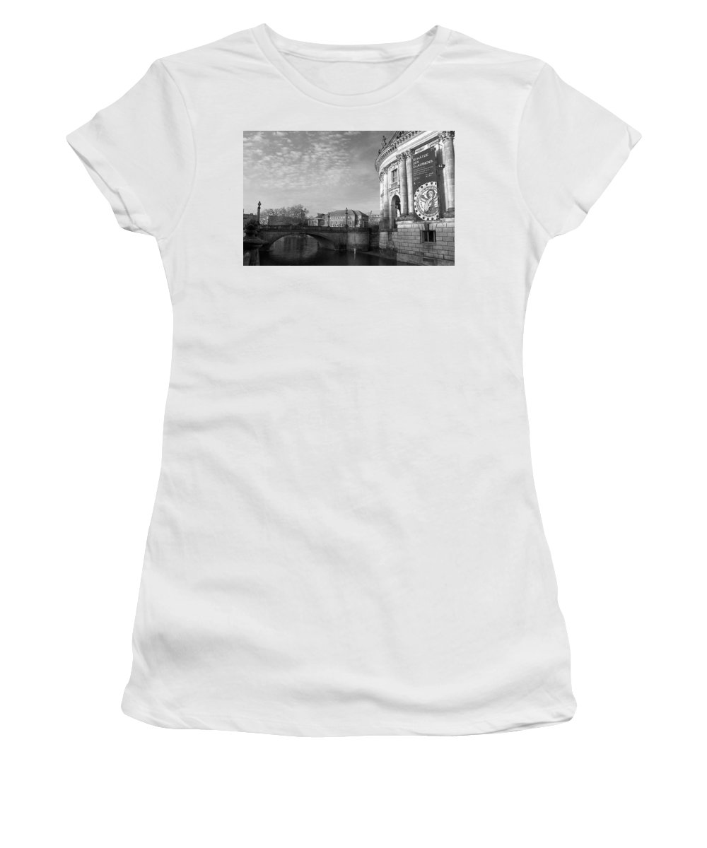Berlin Women's T-Shirt (Athletic Fit) featuring the photograph Berlin Scene by David Resnikoff