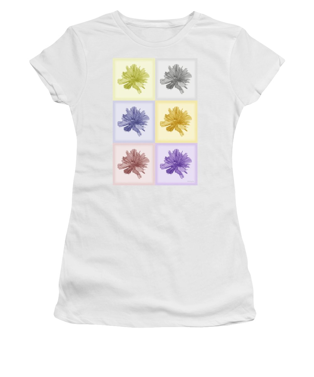 Dejavu Women's T-Shirt featuring the digital art Deja Vu by Xueling Zou