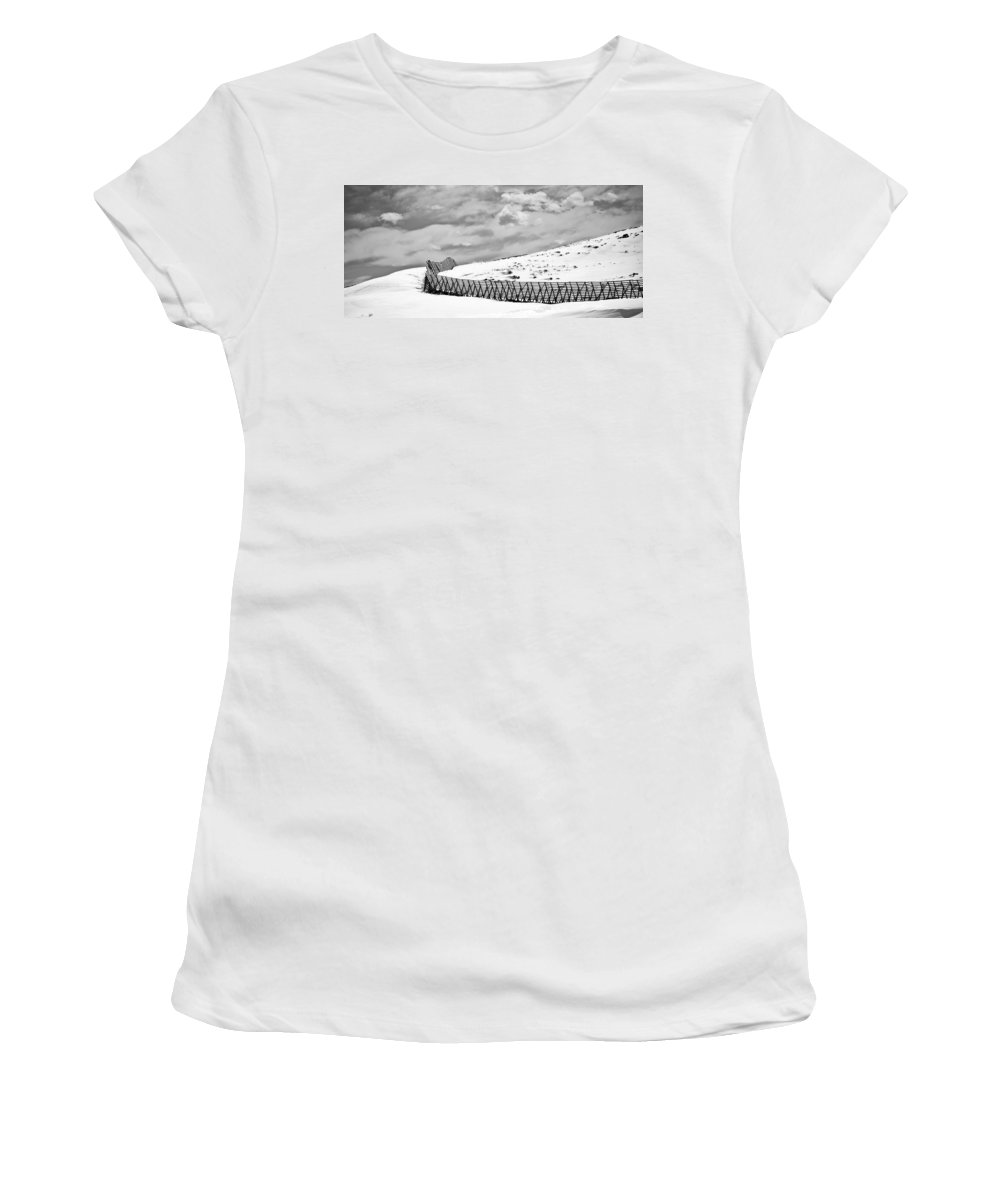 Desolate Women's T-Shirt (Athletic Fit) featuring the photograph Desolation by Marilyn Hunt