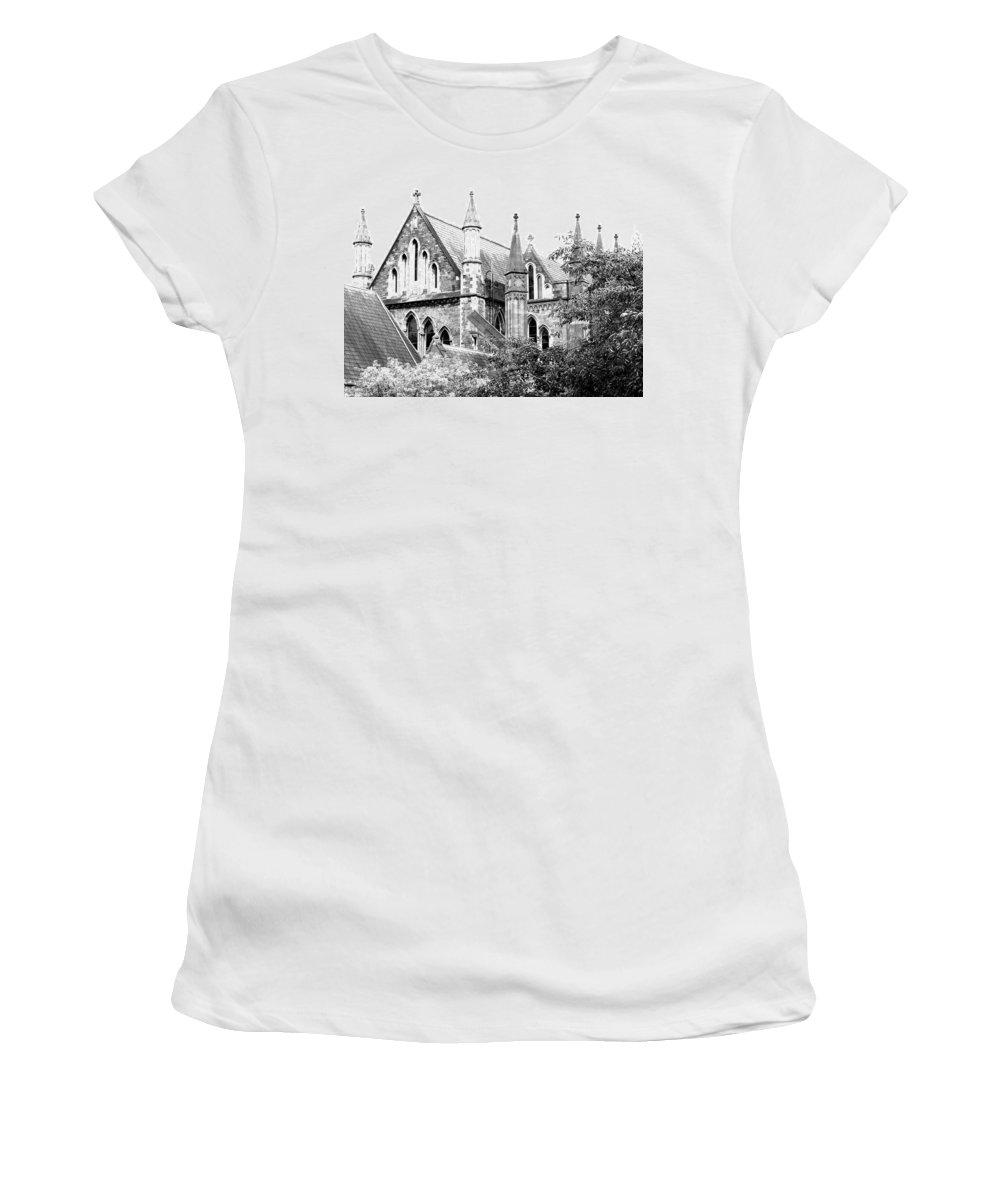Church Women's T-Shirt featuring the photograph Dublin Church by David Resnikoff