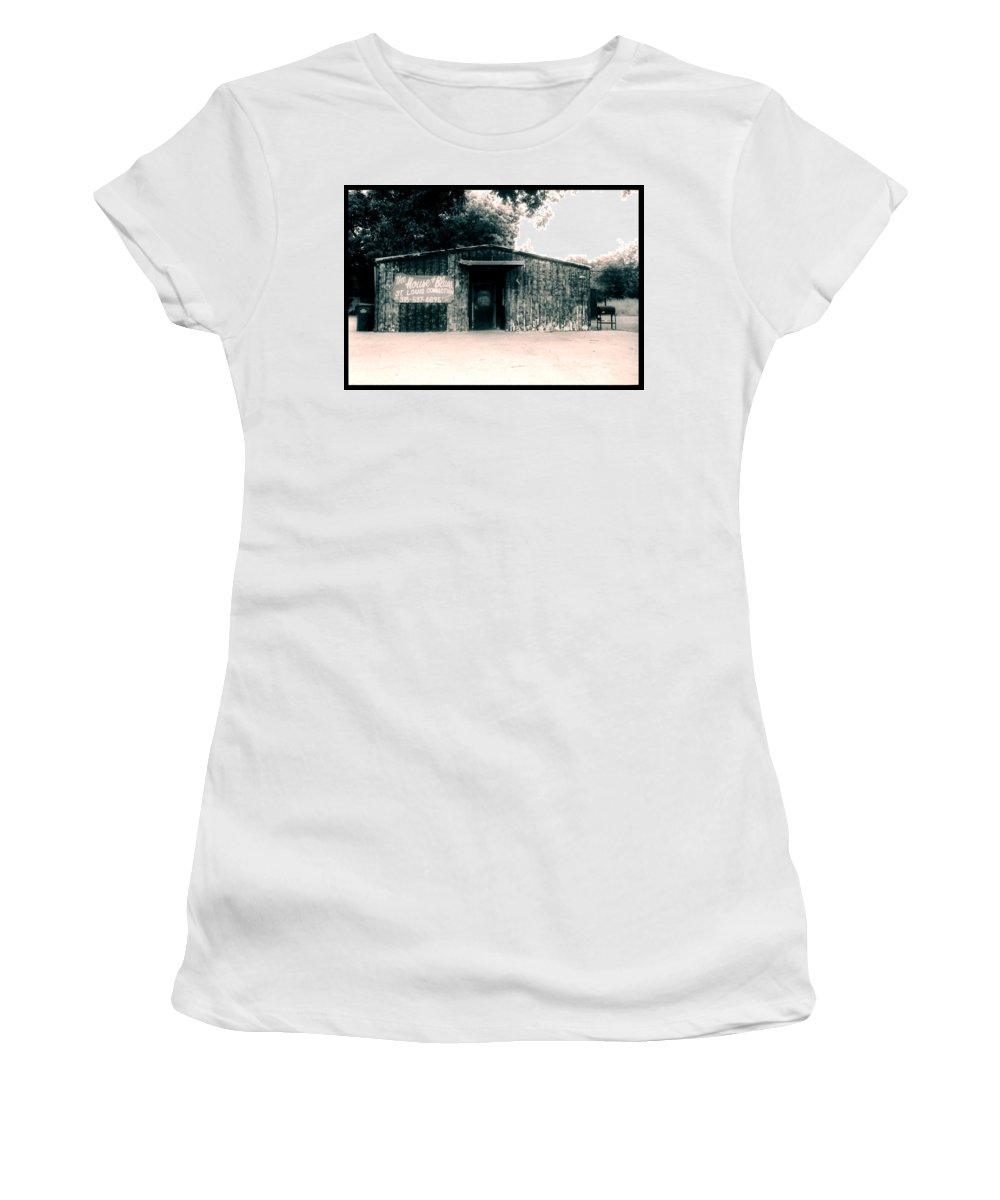 Louisiana Women's T-Shirt (Athletic Fit) featuring the photograph House Of Blues by Doug Duffey