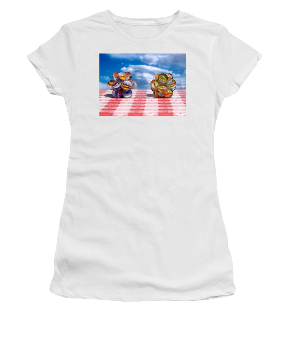 Isometric Women's T-Shirt featuring the photograph Isometric And Icosahedral Symmetry by Raul Gonzalez Perez