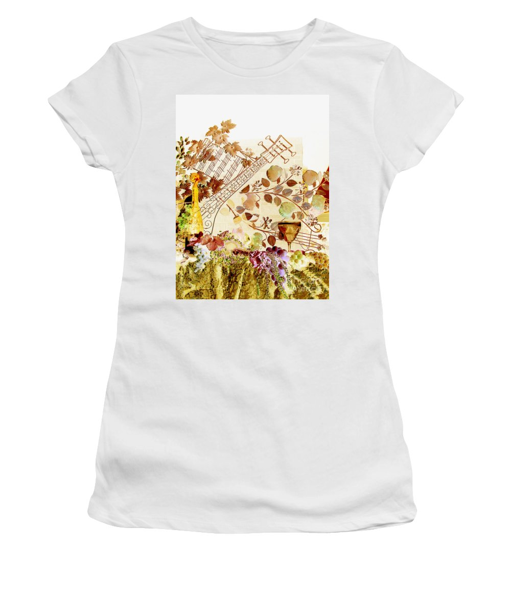 Music Women's T-Shirt featuring the photograph Music With Wine 2 by Anthony Wilkening
