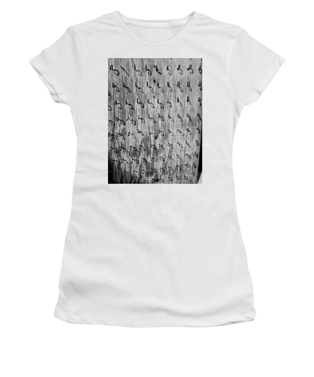 Repetition Women's T-Shirt (Athletic Fit) featuring the photograph Repetition To Variation 1b by Xueling Zou