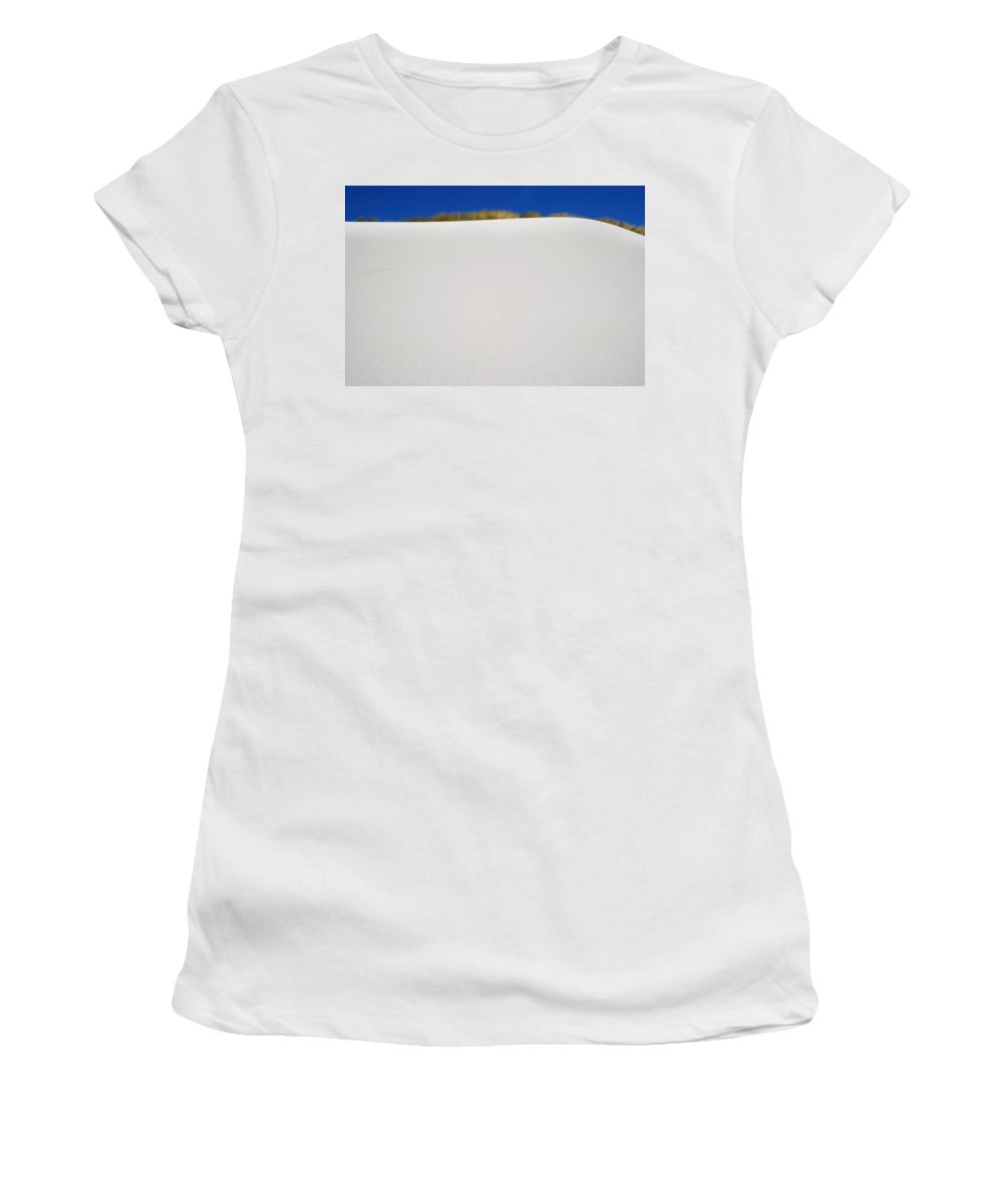 Photography Women's T-Shirt (Athletic Fit) featuring the photograph Sand Dune by Axiom Photographic