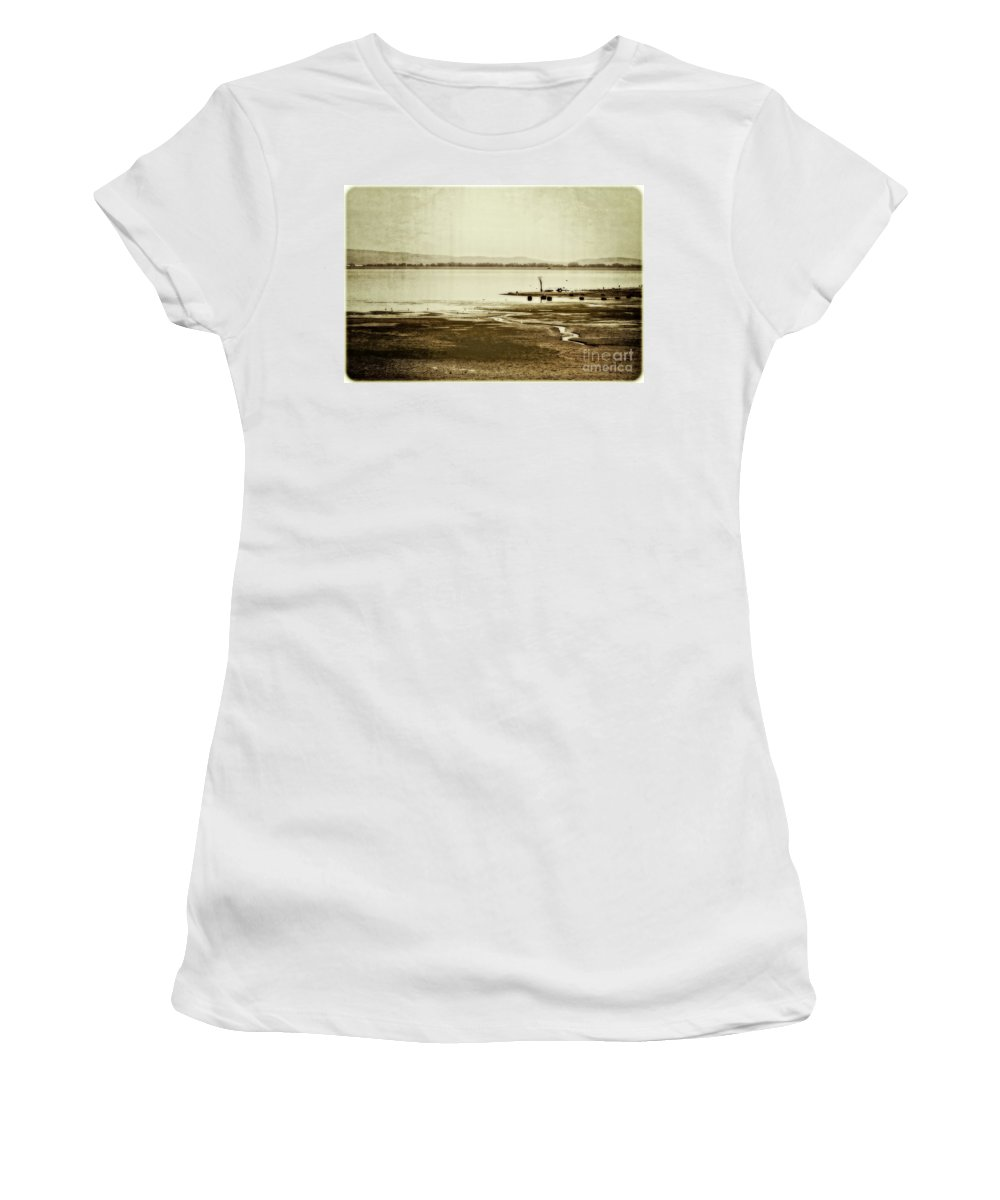 Autumn Women's T-Shirt (Athletic Fit) featuring the photograph September Again by Mandy Tabatt