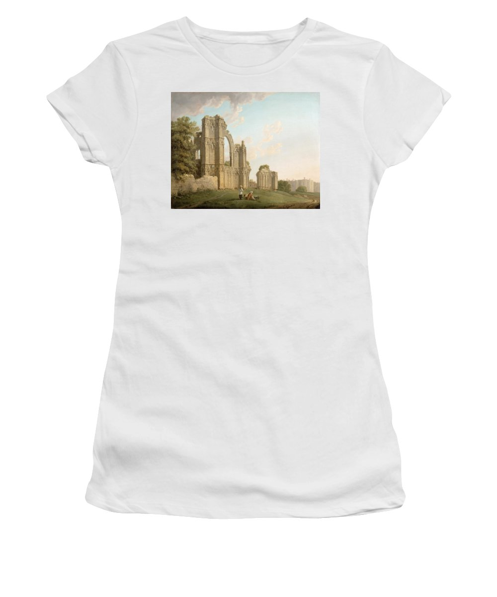 Dilapidation Paintings Women's T-Shirts