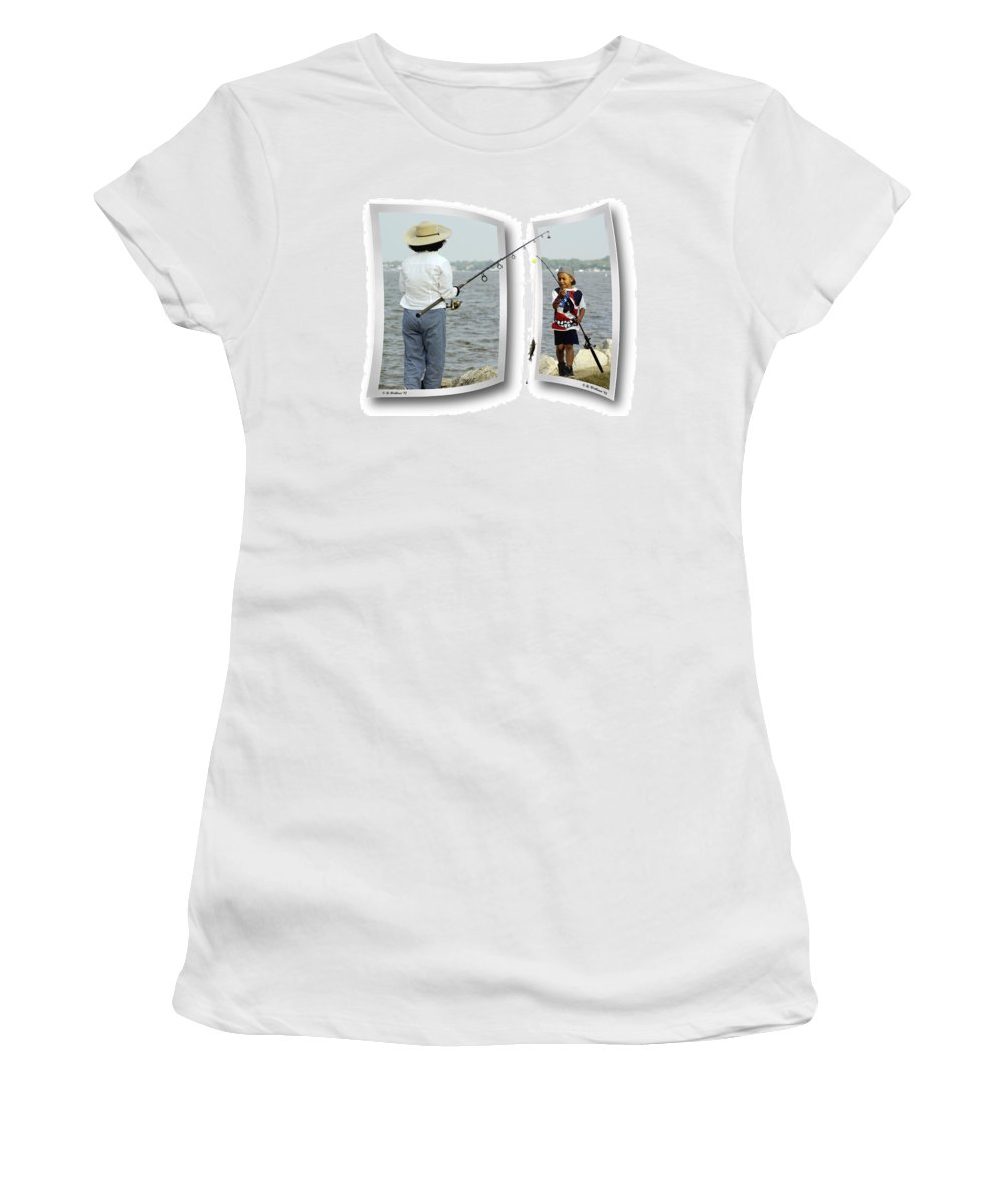 2d Women's T-Shirt (Athletic Fit) featuring the photograph Tangled by Brian Wallace