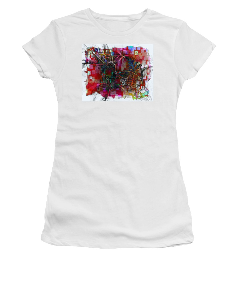 Digital Art Women's T-Shirt featuring the digital art This 'n That by Amanda Moore