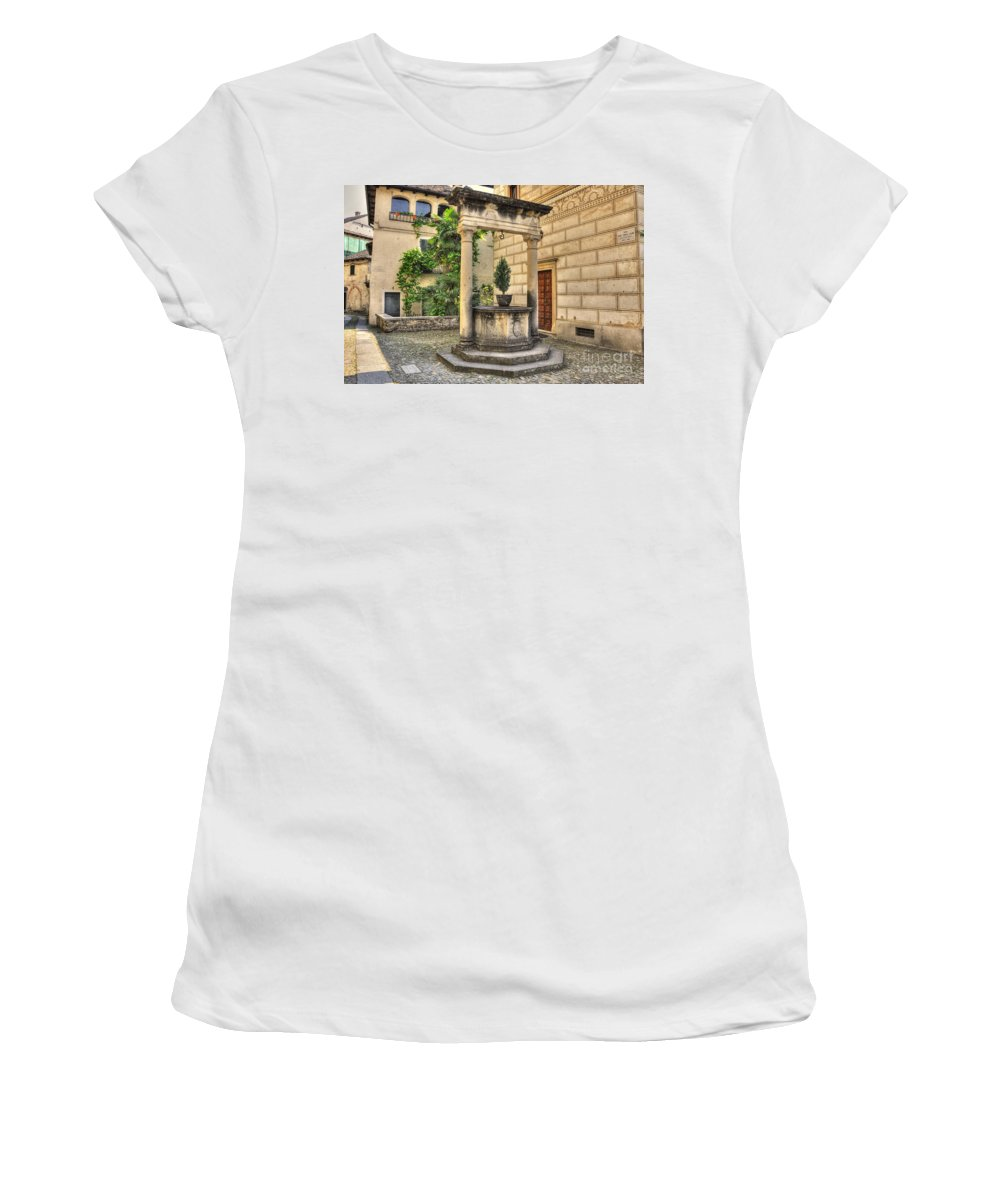 Water Well Women's T-Shirt (Athletic Fit) featuring the photograph Water Well by Mats Silvan